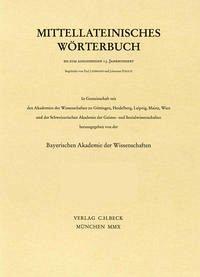 Mittellateinisches Wörterbuch 27. Lieferung (densesco - desuesco) - Antony, Heinz