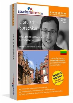 Litauisch-Expresskurs, PC CD-ROM m. MP3-Audio-CD