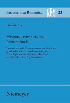 Hispano-romanisches Namenbuch