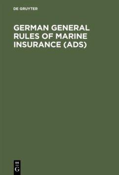 German General Rules of Marine Insurance (ADS)