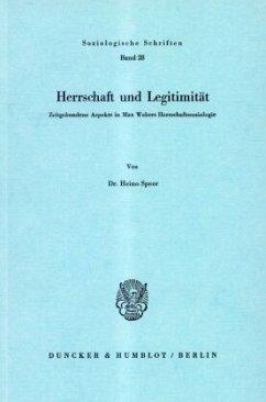 Herrschaft und Legitimität - Speer, Heino