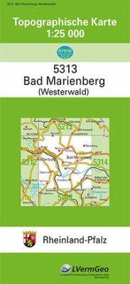 Bad Marienberg (Ww.) 1 : 25 000