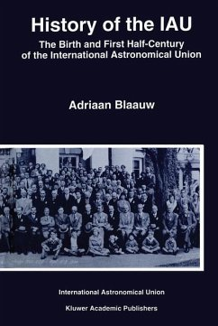 History of the IAU - Blaauw, Adriaan