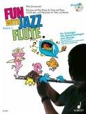 Fun with Jazz Flute, für Flöte u. Klavier, m. Audio-CD