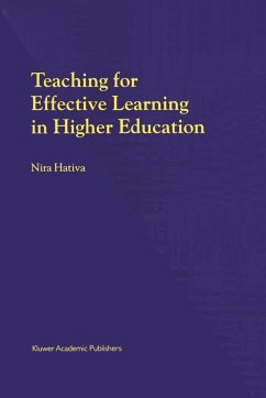 Teaching for Effective Learning in Higher Education - Hativa, N.