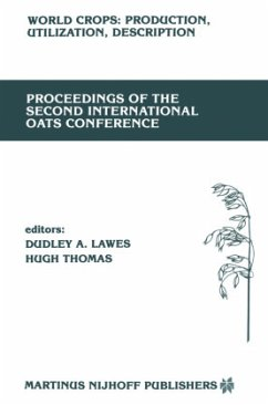 Proceedings of the Second International Oats Conference: The University College of Wales, Welsh Plant Breeding Station, Aberystwyth, U.K. July 15-18, - Lawes, D.A. / Thomas, H. (eds.)