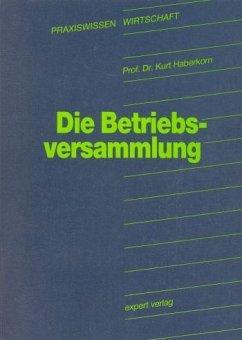 Die Betriebsversammlung - Haberkorn, Kurt