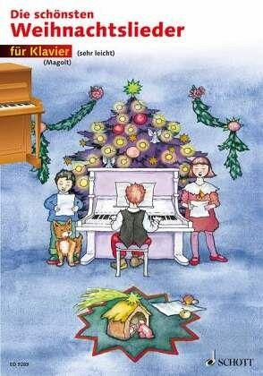 die sch nsten weihnachtslieder f r klavier. Black Bedroom Furniture Sets. Home Design Ideas