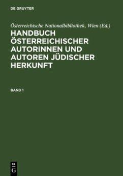 Handbuch österreichischer Autorinnen und Autoren jüdischer Herkunft