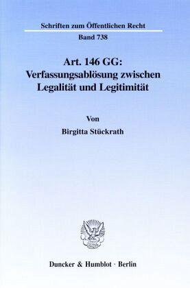 Grundgesetz Art 146
