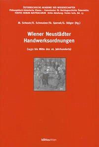 Wiener Neustädter Handwerksordnungen