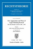 New Approaches and Ways of Legal Thinking Revised