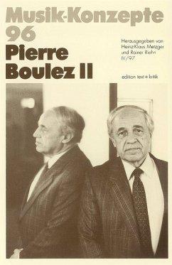 Pierre Boulez II