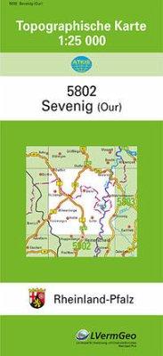Sevenig (Our) 1 : 25 000