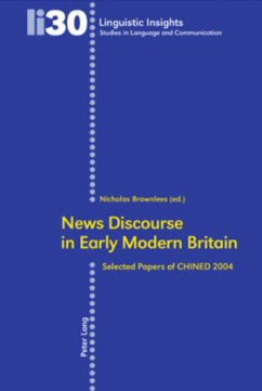 News Discourse in Early Modern Britain