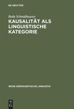 Kausalität als linguistische Kategorie