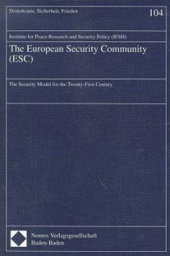 The European Security Community (ESC)