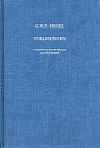 Vorlesungen über die Logik und Metaphysik - Hegel, Georg Wilhelm Friedrich
