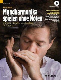 Mundharmonika spielen ohne Noten - Letsch, Perry