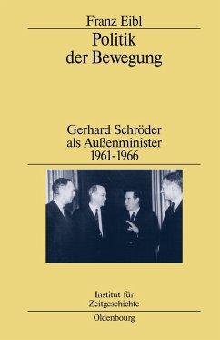 Politik der Bewegung - Eibl, Franz