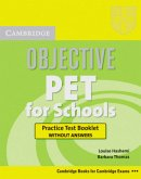 Objective KET. Lower intermediate. Practice Test Booklet without answers