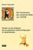 Der Formicarius des Johannes Nider von 1437/38
