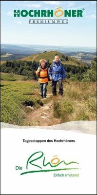 Hochrhöner Premiumweg Wanderführer