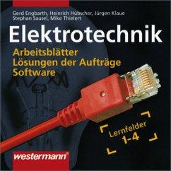 Elektrotechnik Grundwissen: E-Systeme, Installationen, Steuerungen, IT-Systeme / Lernfelder 1-4: Daten-CD von Gerd Engbarth (Autor), Heinrich Hübscher (Autor), Jürgen Klaue (Autor), Stephan Sausel (Au