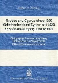 Greece and Cyprus since 1920 / Griechenland und Zypern seit 1920