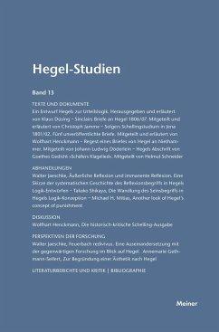 Hegel-Studien / Hegel-Studien