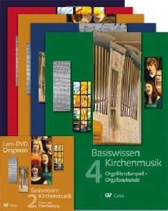 Basiswissen Kirchenmusik, 4 Bde. + Registerbd. + DVD