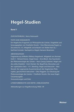 Hegel-Studien / Hegel-Studien Band 1 (1961)