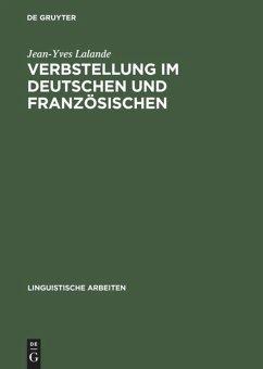 Verbstellung im Deutschen und Französischen