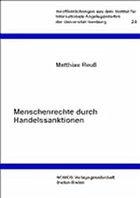Menschenrechte durch Handelssanktionen - Reuß, Matthias