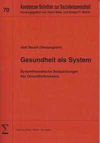 Gesundheit als System