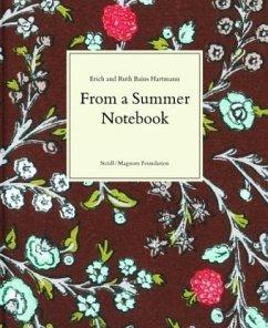 From a Summer Notebook