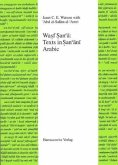Wasf Sanca: Texts in Sancani Arabic