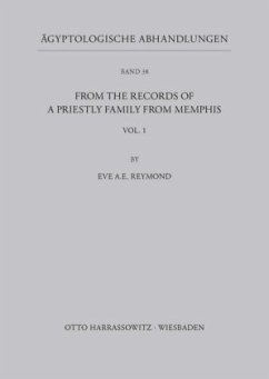 From the records of a priestly Family from Memphis - Reymond, Eve A