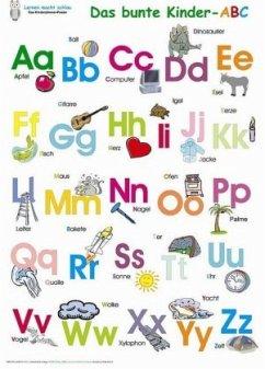 Das bunte Kinder-ABC, Poster - Momm, Helga