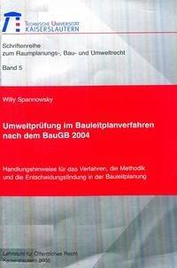 Umweltprüfung im Bauleitplanverfahren nach dem BauGB 2004