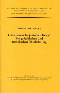 Gab es einen Trojanischen Krieg? - Oettinger, Norbert