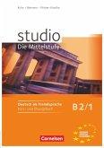 studio d 1 - Mittelstufe. Kurs- und Übungsbuch