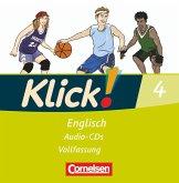 8. Schuljahr, Audio-CDs (Vollfassung) / Klick! Englisch Bd.4