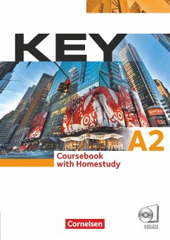 Key. Europäischer Referenzrahmen: A2 Kursbuch - Eilertson, Carole