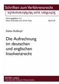 Die Aufrechnung im deutschen und englischen Insolvenzrecht
