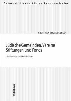 Jüdische Gemeinden, Vereine, Stiftungen und Fonds.