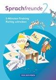 Sprachfreunde 2. Schuljahr. Arbeitsheft. Ausgabe Nord/Süd