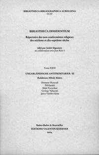 Bibliotheca Dissidentium XXIII