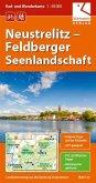 Rad- und Wanderkarte Neustrelitz - Feldberger Seenlandschaft 1 : 50 000