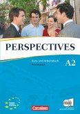 Perspectives. Neue Ausgabe. Kurs- und Arbeitsbuch mit Lösungsheft und Wortschatztrainer